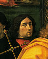 Domenico ghirlandaio, Autoritatto nell'Adorazione dei Magi del 1488, Ospedale degli Innocenti.jpg