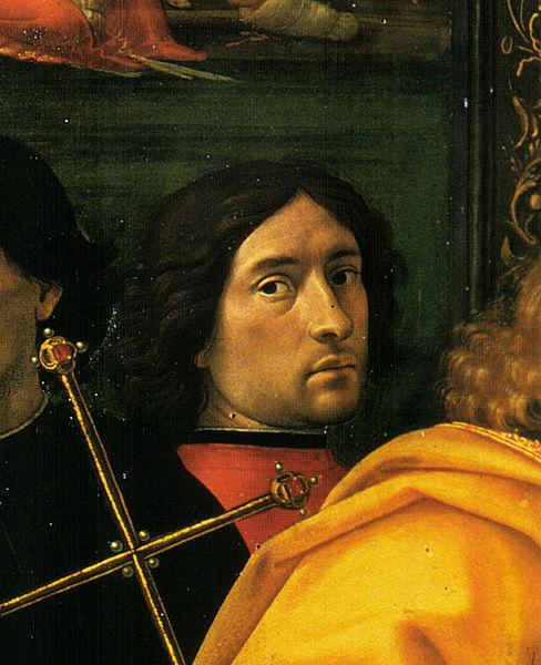 http://upload.wikimedia.org/wikipedia/commons/thumb/4/41/Domenico_ghirlandaio%2C_Autoritatto_nell'Adorazione_dei_Magi_del_1488%2C_Ospedale_degli_Innocenti.jpg/488px-Domenico_ghirlandaio%2C_Autoritatto_nell'Adorazione_dei_Magi_del_1488%2C_Ospedale_degli_Innocenti.jpg