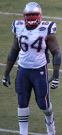 Description de l'image  Donald Thomas (American football).JPG.