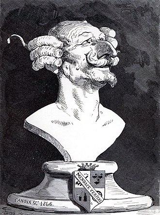 Baron Munchausen - Gustave Doré's portrait of Baron Munchausen