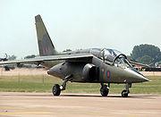 Dassault-Breguet/Dornier Alpha Jet of the UK defence technology organisation QinetiQ