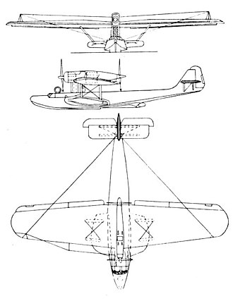 Dornier Do 18 - Dornier Do.18 3-view drawing from L'Aerophile August 1936