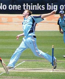 Doug Bollinger Australian cricketer