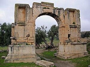 Arch of Alexander Severus - Arch of Alexander Severus at Dougga