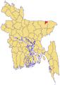 Dowarabazar Upazila Map.png