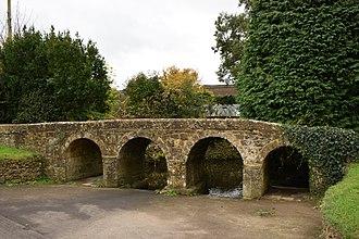 Dowlish Wake - Packhorse bridge