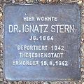 Dr. Ignatz Stern - Sierichstraße 152 (Hamburg-Winterhude).Stolperstein.crop.ajb.jpg