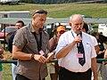 Dr M. Kohut, Dr E.Benes IX Pożegnanie Wakacji w Rudawce Rymanowskiej 29-30,08.2009.JPG