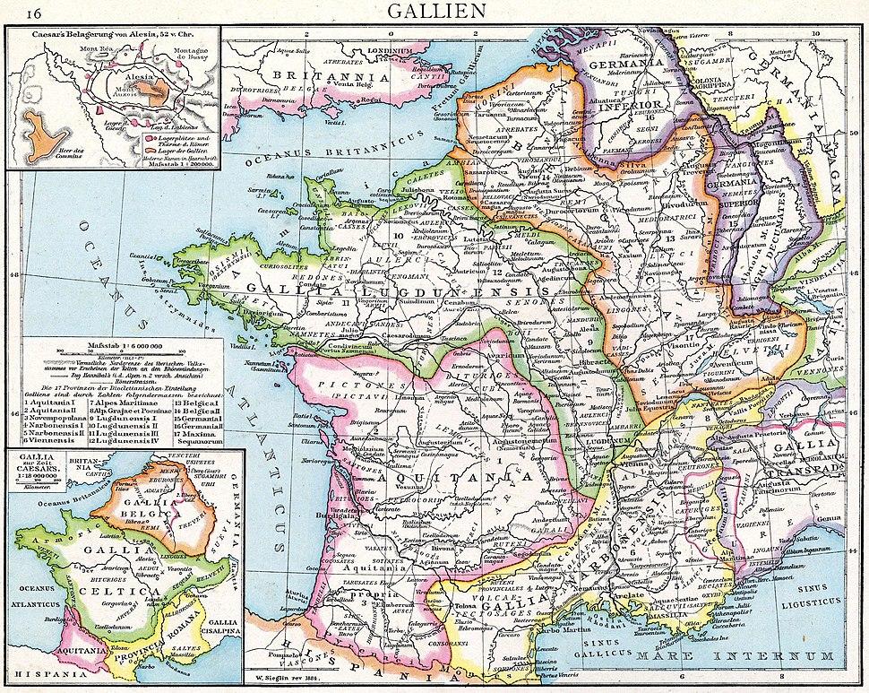 Droysens Hist Handatlas S16 Gallien