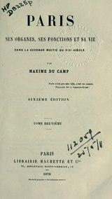 Du Camp - Paris, tome 2.djvu