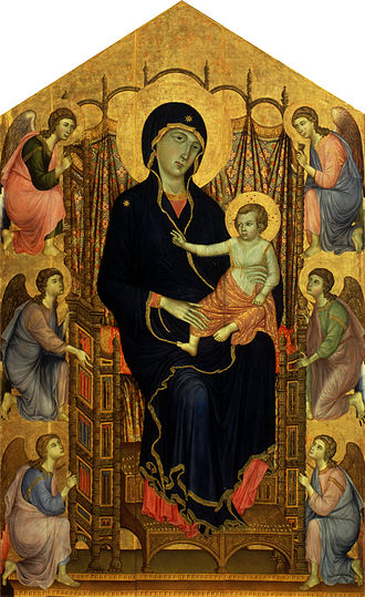 Cimabue's Celebrated Madonna - Image: Duccio Maestà Google Art Project