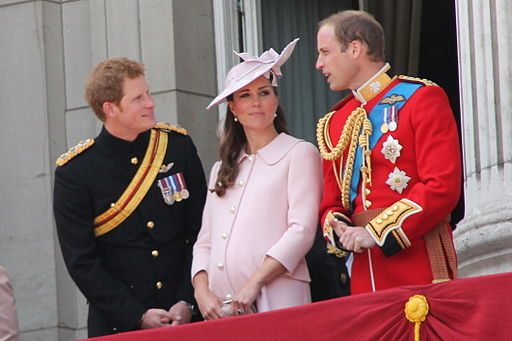 Duke and Duchess of Cambridge and Prince Harry