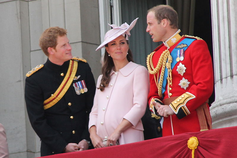 File:Duke and Duchess of Cambridge and Prince Harry.JPG
