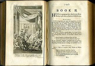 Dunciad Cibber illustration 1760