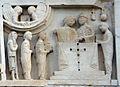 Duomo di massa marittima, esterno, episodi dlela vita di san cerbone, XIII secolo 06.jpg
