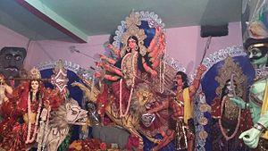 Kumai (village) - Durga Puja (Kumai) 2015