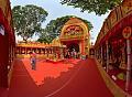 Durga Puja Pandal Interior - Biswamilani Club - Padmapukur Water Treatment Plant Road - Howrah 2015-10-20 6030-6044.tif