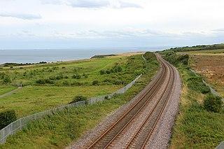 Durham Coast Line A Railway Line in North East England