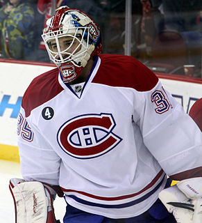Dustin Tokarski ice hockey player from Canada