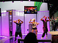 E3 2011 - Dance Central 2 dancer with plastic hair (Xbox) (5831112068).jpg