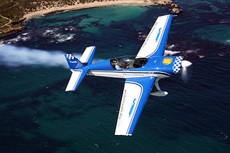 Extra EA-300 - An Extra 300L flying near Perth, Western Australia