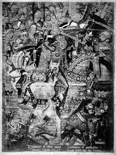 EB1911 Tapestry - Queen Penthesilea overcoming Diomedes.jpg