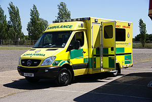 East of England Ambulance Service - An East of England Ambulance Service emergency ambulance