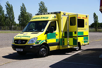 East of England Ambulance Service - A 2010 Mercedes Sprinter Double Staffed Ambulance (DSA)