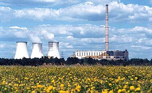 Jaworzno Power Station - Skyline of Jaworzno III
