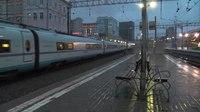 File:EVS2-01 Sapsan departs Kursky rail terminal.webm