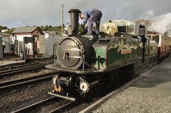 Earl of Merioneth at Porthmadog Harbour railway station (8125).jpg