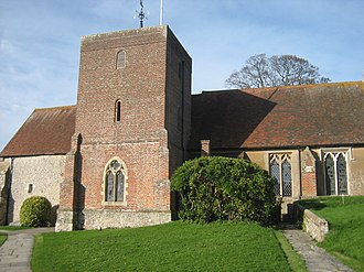 Lavant, West Sussex - Image: East Lavant St Mary