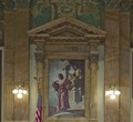 East courtroom mural in Birch Bayh Federal Building, Indianapolis, Indiana LCCN2010720424.tif