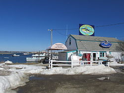 Seabrook Beach New Hampshire Census Designated Place Eastman S Fishing Fleet