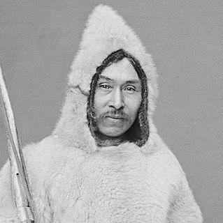 Inuk hunter and explorer