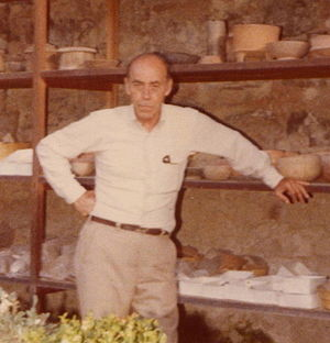 Edwin M. Shook - Ed Shook at his home in Antigua Guatemala, 1979