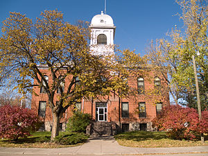 Eddy County, North Dakota - Image: Eddy County Courthouse 2008