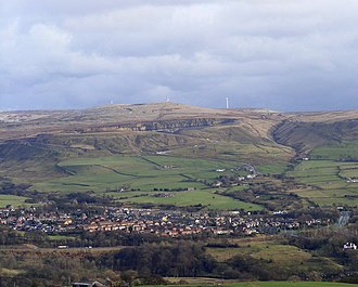 Edenfield - Image: Edenfield and Scout Moor