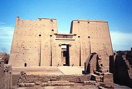 pylônes d'entrée du temple d'Edfou