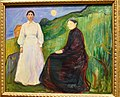 Edvard Munch, Mother and Daughter, 1897-99, National Gallery, Oslo (36298254992).jpg