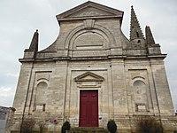 Eglise Saint-Christophe de Coulanges-la-Vineuse façade principale.JPG