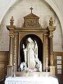 Eglise Saint-Martin à Triguères - Sainte Alpais - née à Triguères entre 1150 et 1155.jpg