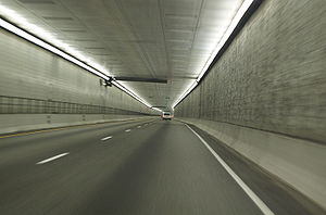 Eisenhower Tunnel - Image: Eisenhower Johnson Memorial Tunnel