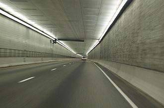 Eisenhower Tunnel - Image: Eisenhower Johnson Memorial Tunnel
