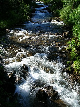 Eiterå - Image: Eiterå river A