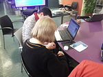 Elderly people editing Catalan Wikipedia 04.JPG