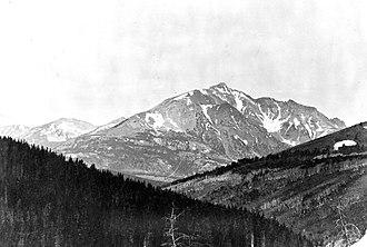 Electric Peak - Image: Electric Peak 1890