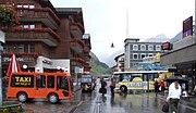 Elektrotaxis und Elektrobus in Zermatt