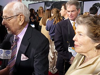 Anne Jackson - Jackson and her husband Eli Wallach in 2010