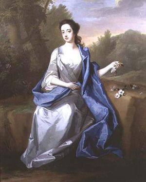 Elizabeth Somerset, Duchess of Beaufort - Elizabeth Somerset, née Berkeley, Duchess of Beaufort, painting attributed to Michael Dahl